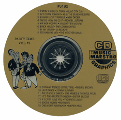 PARTY TIME VOL  V1  Music Maestro   MM 6192