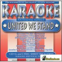 PATRIOTIC SONGS UNITED WE STAND      Karaoke   40140