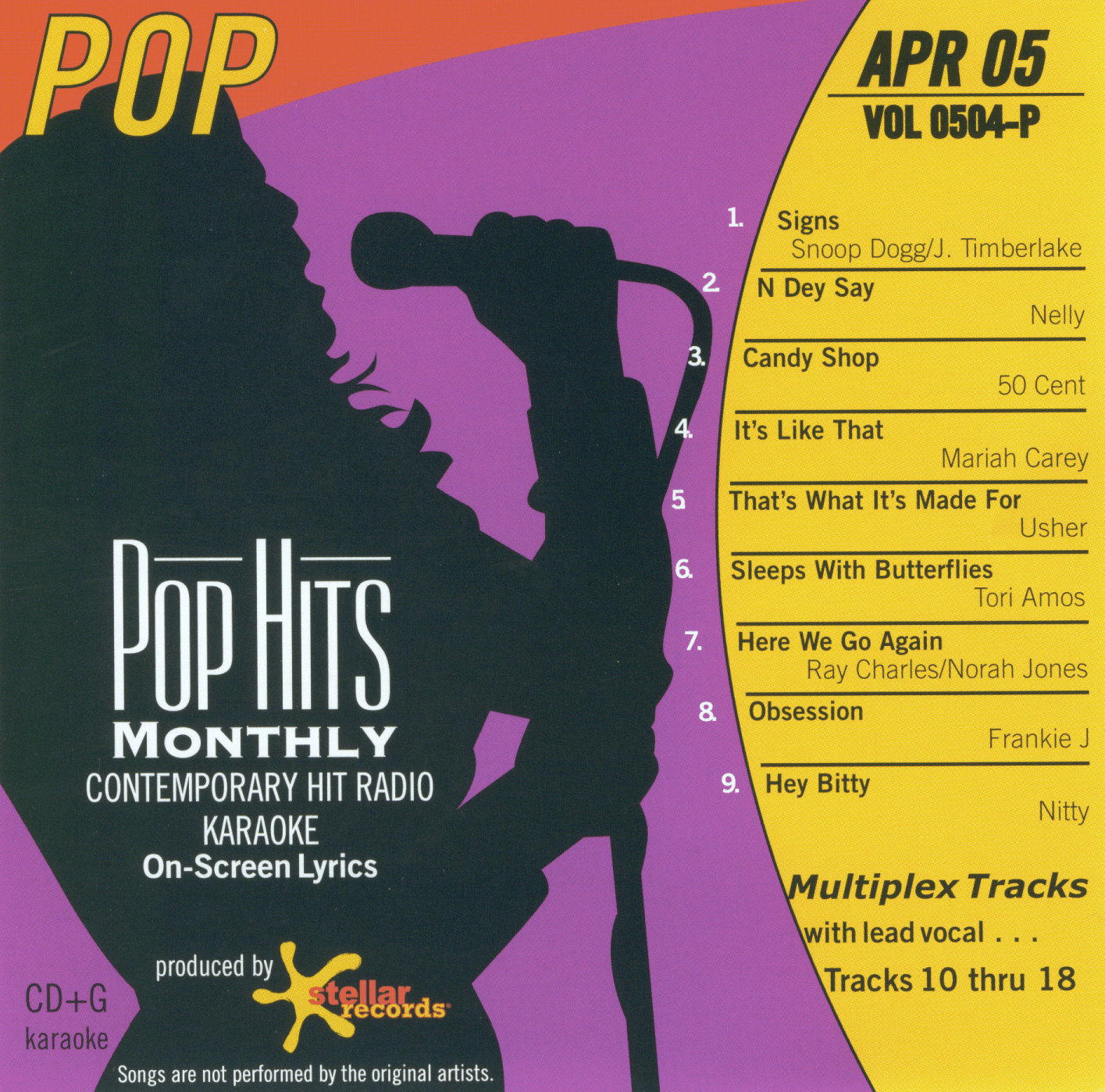 POP APRIL 2005  Top Hits Monthly  0504 P