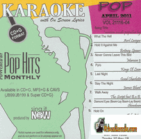 POP APRIL 2011         Chart Hits       CH1104P