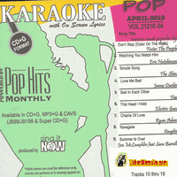 POP APRIL 2012       Chart Hits     1204P