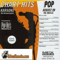 POP AUGUST 2008  Vol. 20816 8  Chart Hits 0808 P