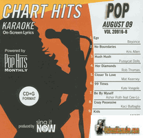POP AUGUST 2009     Chart hits    0908P