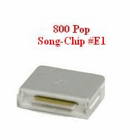 POP CHIP Songs   Chip # E1    Magic Mic     800 Songs
