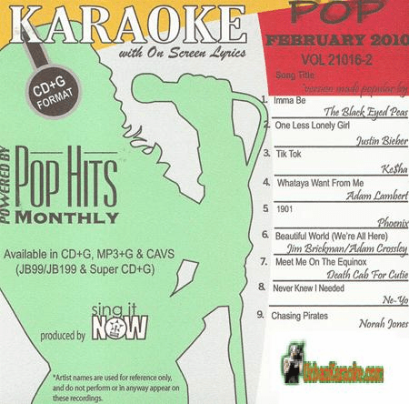 POP FEBUARY 2010    Chart Hits   1002P