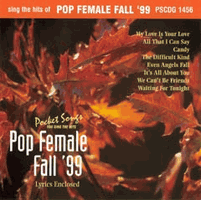 POP FEMALE FALL '99      Pocket Songs    PS1456