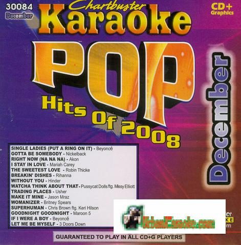 POP HITS 2008  DECEMBER CHARTBUSTER  CB 30084
