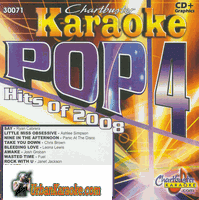 POP HITS 2008  POP 4   Chartbuster  CB30071