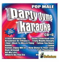 POP MALE  Party Tyme Karaoke  SYB 1050