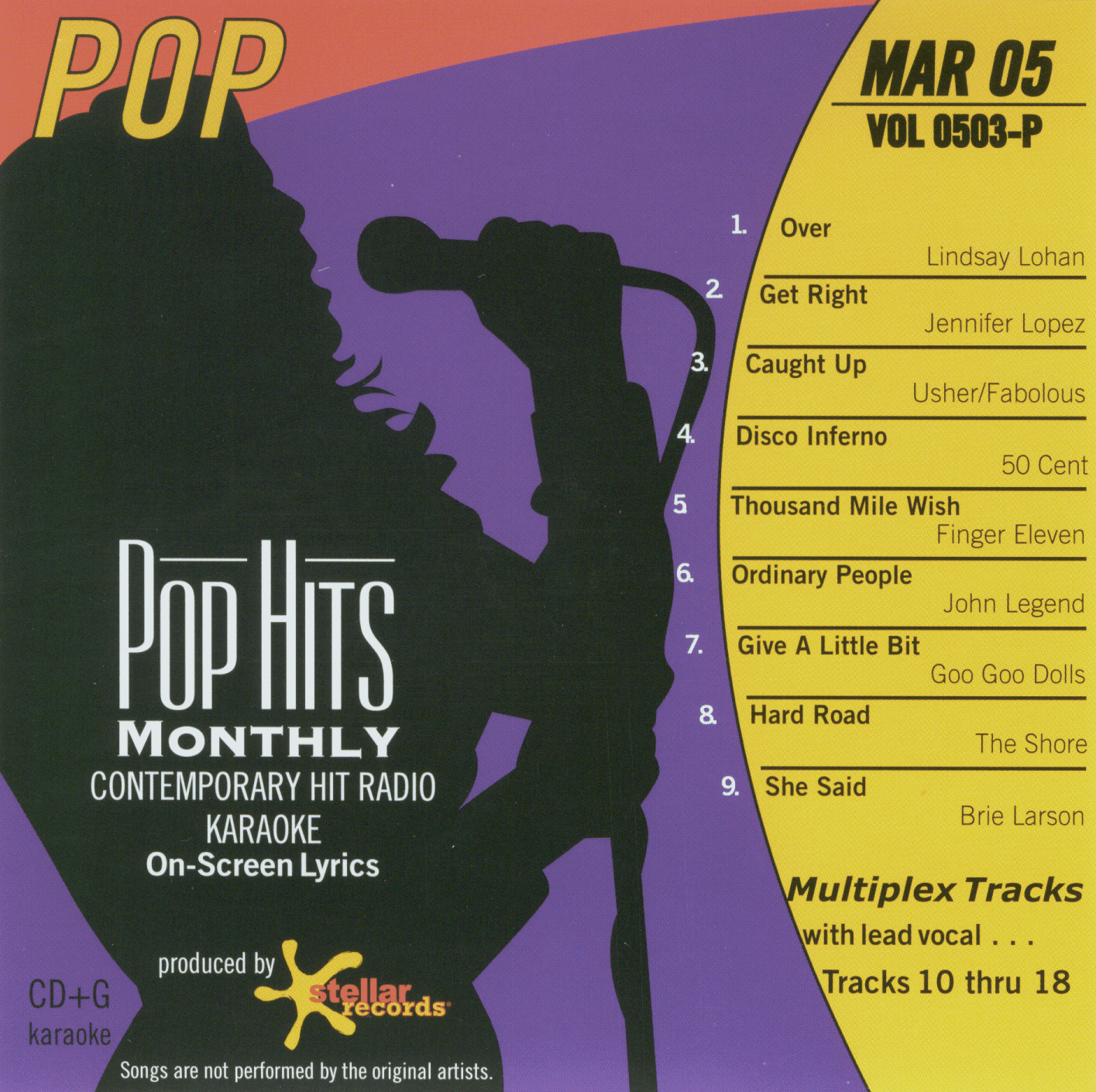 POP MAR 2005  Pop Hits Monthly   0503 P