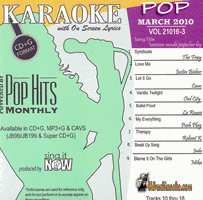 POP MARCH 2010      Chart Hits    1003P