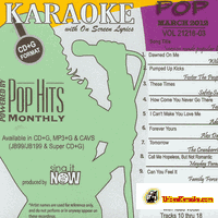 POP MARCH 2012    Chart HIts    1203P