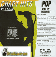 POP MAY 09    Chart Hits    0905 P