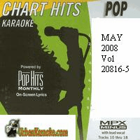 POP MAY 2008  Vol. 20816-5    Chart Hits 0805-P