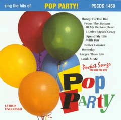 POP PARTY!       Pocket Songs     PS1450