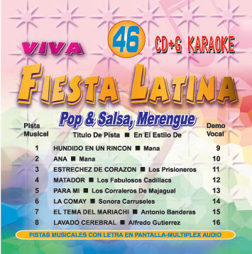 POP & SALSA MERENGUE   Viva Fiesta Latina Pop   FL  046