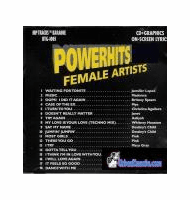 POWERHITS 2000 FEMALE ARTISTS   Hip Tracks   HTG 1005