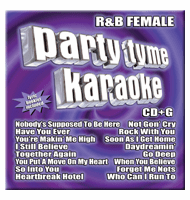 R&B FEMALE Party Tyme Karaoke  Sybersound SYB 1013