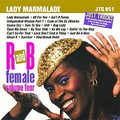 R&B FEMALE Vol. 4       Pocket Songs Just Tracks     JTG 051
