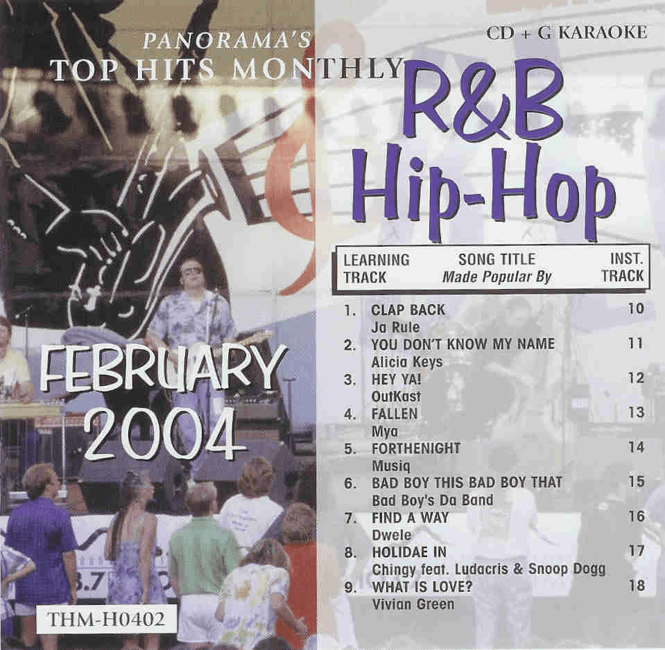 R&B/HIP-HIP FEBRUARY 2004 Top Hits Monthly