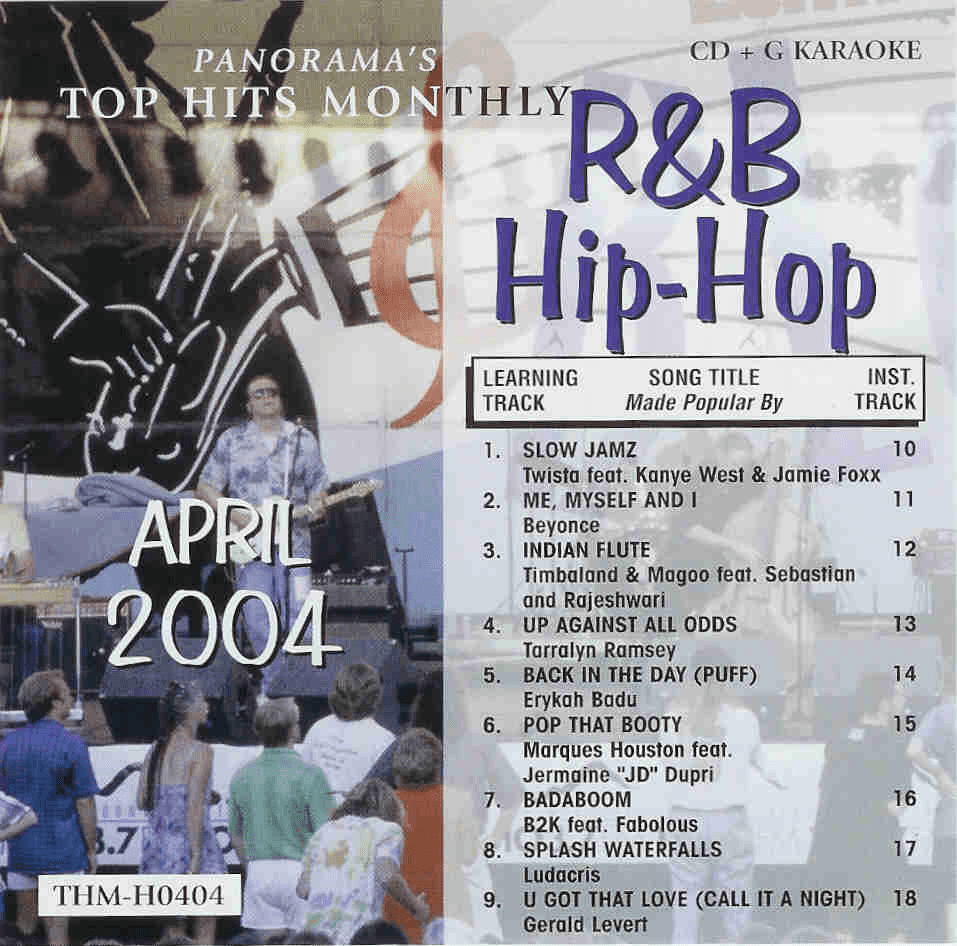 R&B/HIP-HOP APRIL 2004 Top Hits Monthly