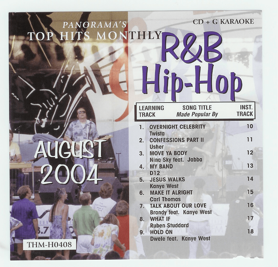 R&B/HIP-HOP AUGUST 2004    Top Hits Monthly