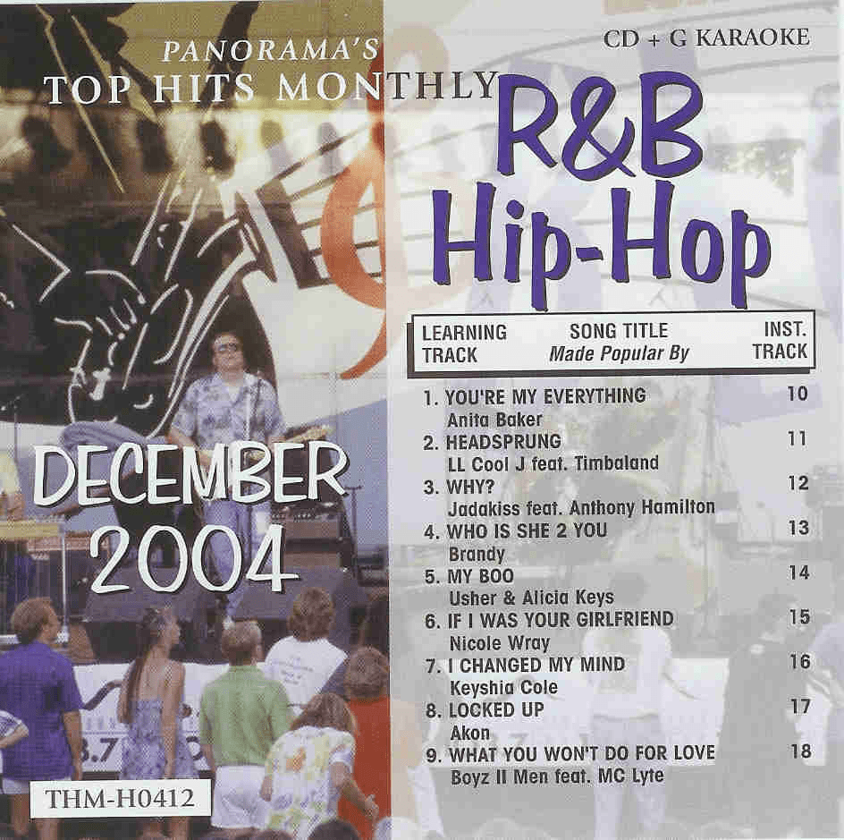 R&B/HIP-HOP DECEMBER 2004   Top Hits Monthly