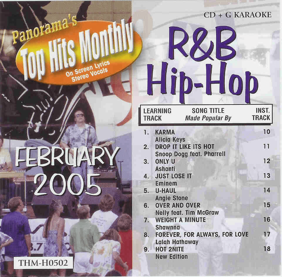 R&B/HIP-HOP FEBRUARY 2005   Top Hits Monthly  H0502
