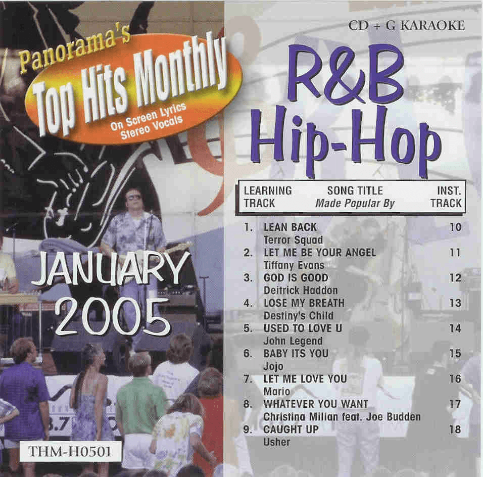 R&B/HIP-HOP JANUARY 2005   Top Hits Monthly   H0501