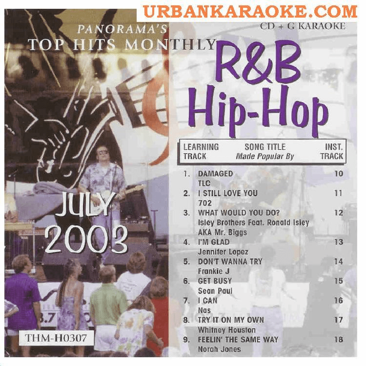 R&B/HIP-HOP JULY 2003  Top Hits Monthly