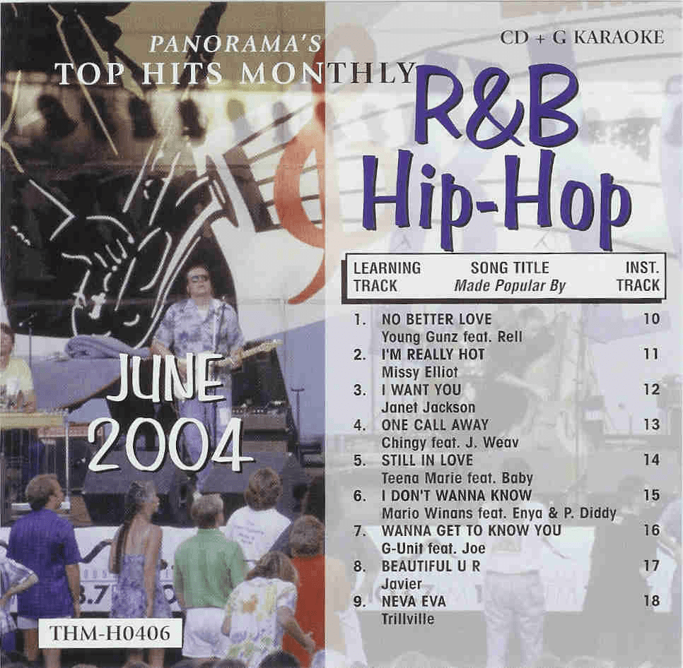 R&B/HIP-HOP JUNE 2004 Top Hits Monthly