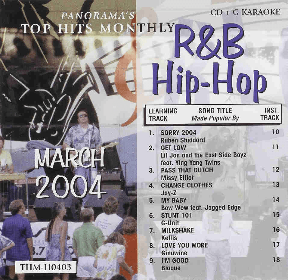 R&B/HIP-HOP MARCH 2004  Top Hits Monthly