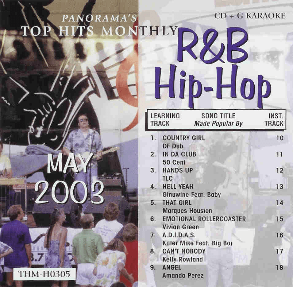 R&B/HIP-HOP MAY 2003  Top Hits Monthly