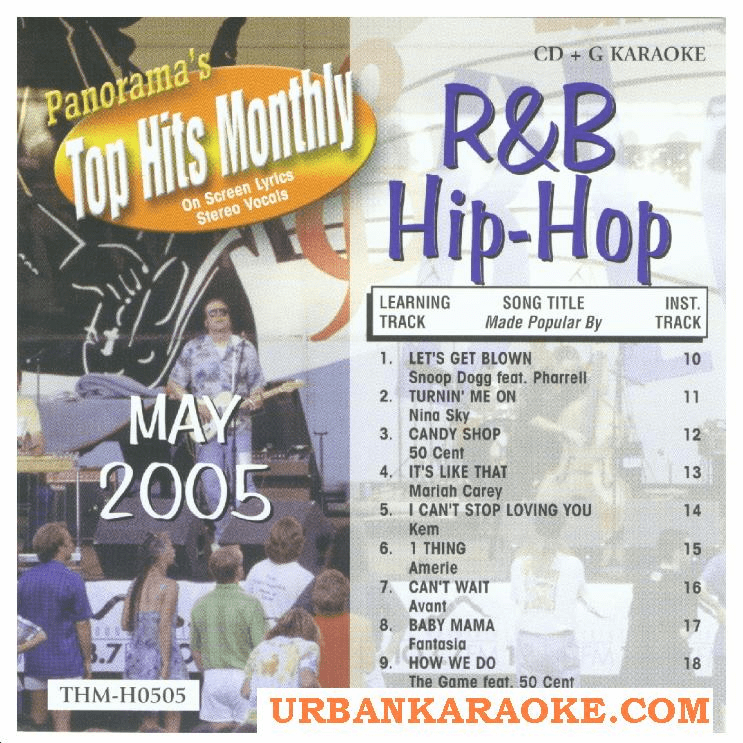 R&B/HIP HOP MAY 2005   Top Hits Monthly   H0505