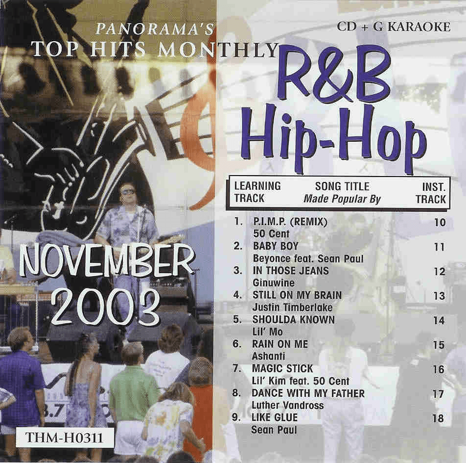 R&B/HIP-HOP NOVEMBER 2003  Top Hits Monthly