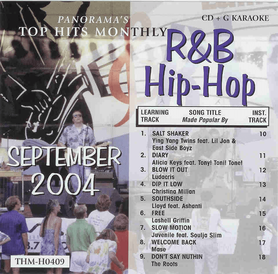 R&B/HIP-HOP SEPTEMBER 2004  Top Hits Monthly