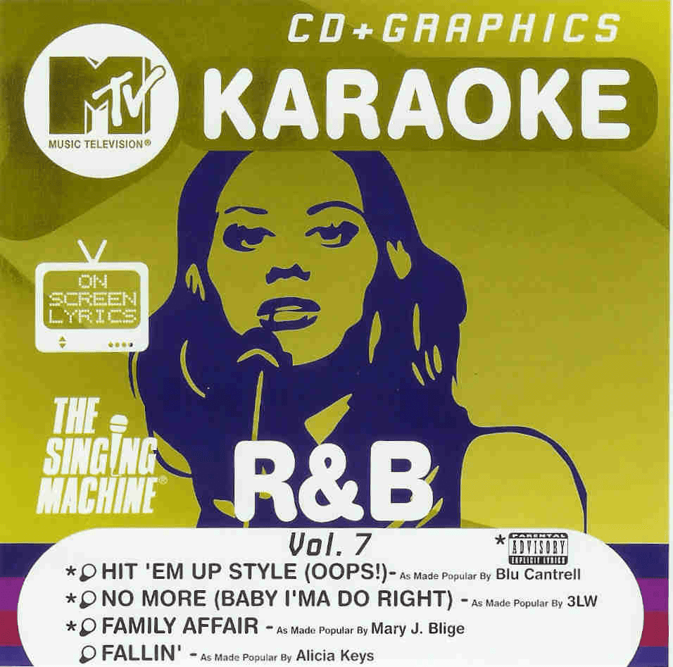 R&B HITS Vol. 7 The Singing Machine G 8307