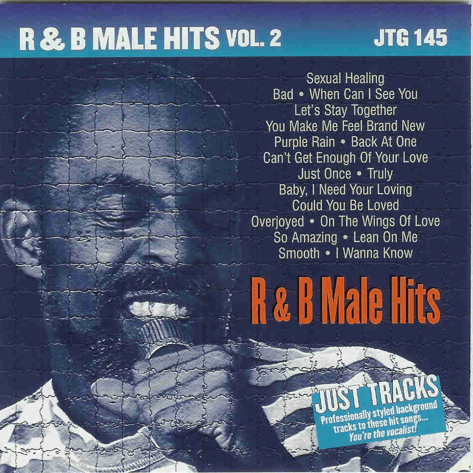 R&B MALE HITS Vol. 2  Just Tracks  JTG 145