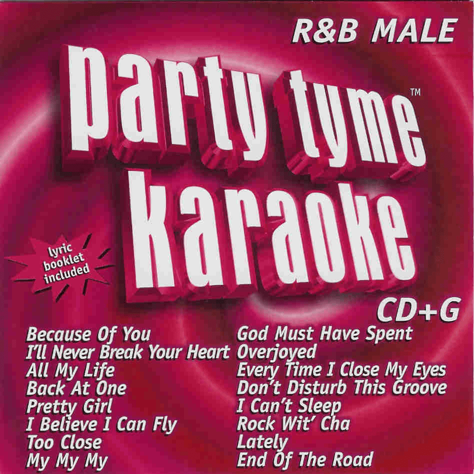 R&B MALE          Party Tyme Karaoke Sybersound        SYB 1012