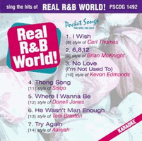 REAL R&B WORLD!    Pocket Songs   PSCDG1492