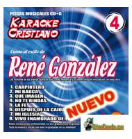 RENE GONZALEZ  KARAOKE CRISTIANO    Magic Music   KCM 004