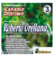 ROBERTO ORELLANA  KARAOKE CRISTIANO    Magic Music   KCM 003