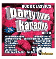ROCK CLASSICS     Party Tyme Karaoke   SYB1070