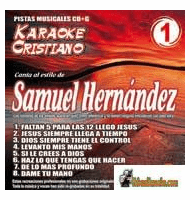 SAMUEL HERNANDEZ KARAOKE CRISTIANO    Magic Music   KCM 001