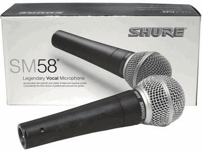 Shure SM58 Dynamic Mic With Cord