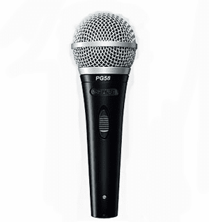 Shure PG48 Professional Mic with Cord