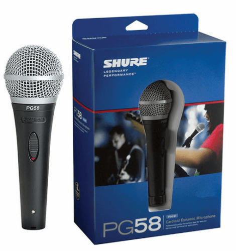 Shure PG58 QTR Professional Mic with Cord