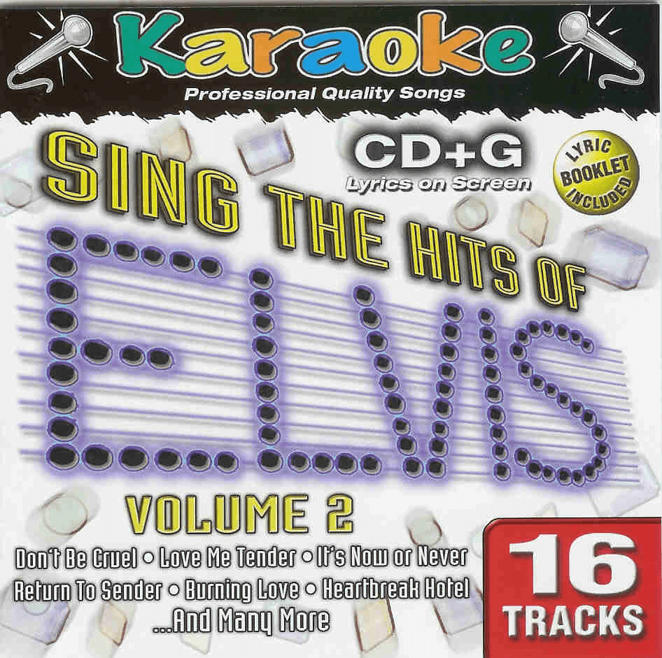 SING THE HITS OF ELVIS VOL. 2    Karaoke Bay  33242