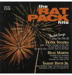 SING THE HITS OF THE RAT PACK      Pocket Songs    PS1318