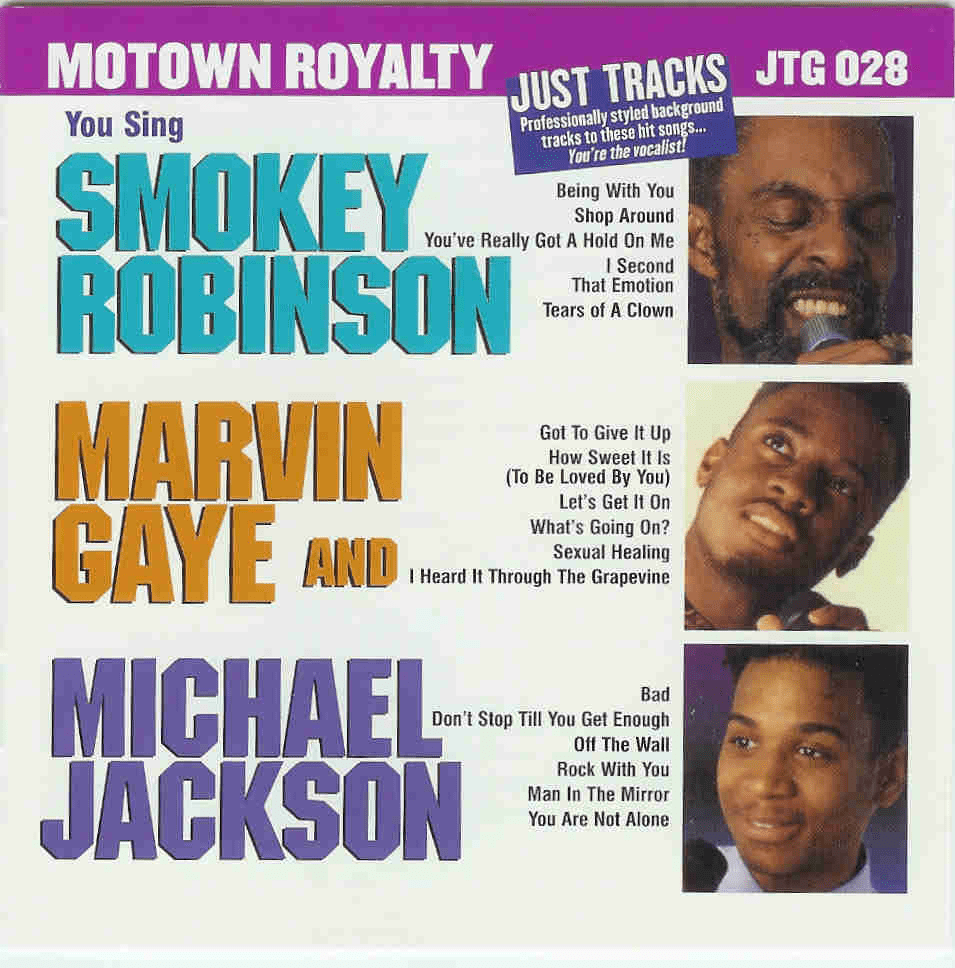 SMOKEY ROBINSON/MARVIN GAYE &  MICHAEL JACKSON    Pocket Songs   JTG 028